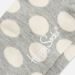 Носки Happy Socks Big Dot Low Grey/White фото- 2