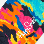 Носки Happy Socks Camo Black/Orange/Pink фото- 2