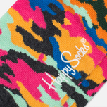 Носки Happy Socks Camo Low Black/Orange/Yellow фото- 2