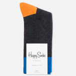 Happy Socks Five Colour Blue/Grey/Orange photo- 0