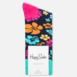 Носки Happy Socks Hawaii Blue/Orange/Pink/Yellow фото- 0