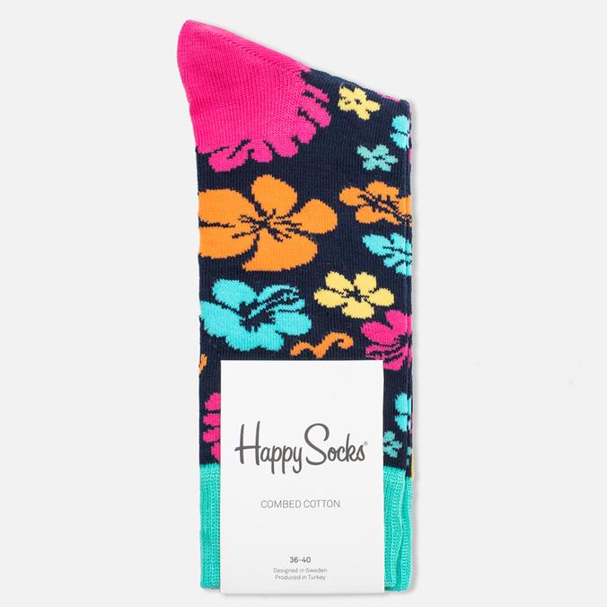 Носки Happy Socks Hawaii Blue/Orange/Pink/Yellow