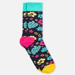 Happy Socks Hawaii Blue/Orange/Pink/Yellow photo- 1