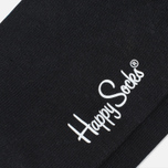 Happy Socks Solid Men's Socks Black photo- 2