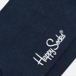 Мужские носки Happy Socks Solid Blue фото- 2