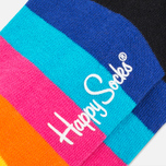 Носки Happy Socks Stripe Low Black/Blue/Yellow фото- 2