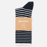 Мужские носки Norse Projects Bjarki B Stripe Dark Navy фото- 0