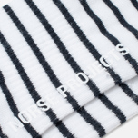 Мужские носки Norse Projects Bjarki B Stripe Kit White фото- 2