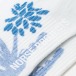 Мужские носки Norse Projects Bjarki Jungle Intarsia Blue фото- 2