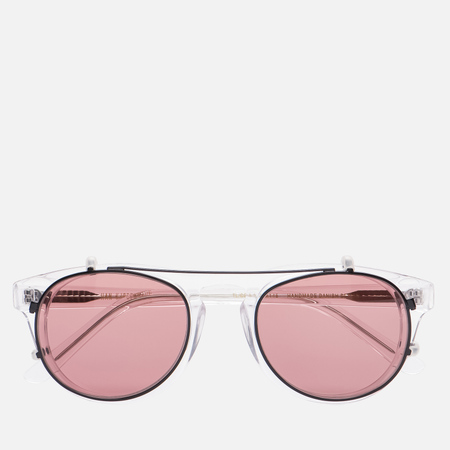 Солнцезащитные очки Han Kjobenhavn Timeless Clip On Clear Red Lenses
