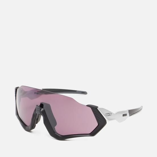 Солнцезащитные очки Oakley Flight Jacket Matte Black/Silver/Prizm Road Black