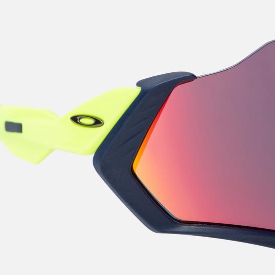 Солнцезащитные очки Oakley Flight Jacket Matte Navy/Prizm Road