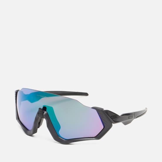 Солнцезащитные очки Oakley Flight Jacket Matte Steel/Prizm Road Jade