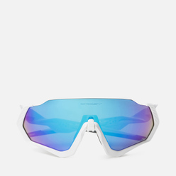 Солнцезащитные очки Oakley Flight Jacket Polished White/Prizm Sapphire