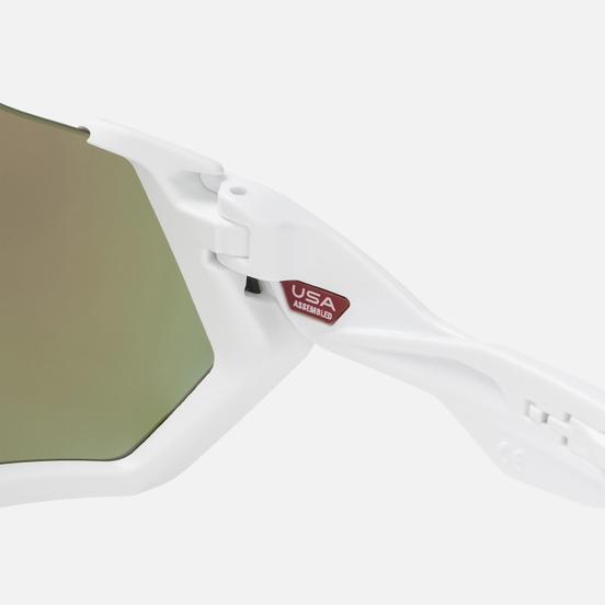 Солнцезащитные очки Oakley Flight Jacket Polished White/Prizm Sapphire