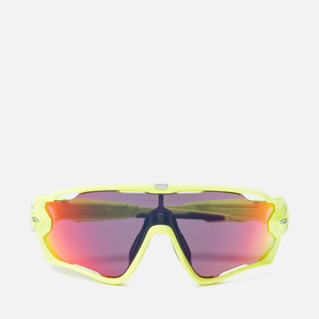 Солнцезащитные очки Oakley Jawbreaker Crystal Clear/Fire Iridium