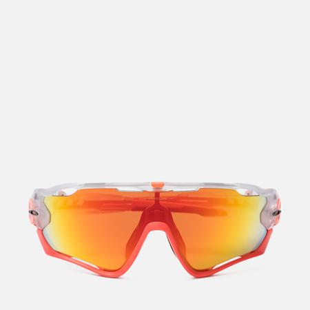 Солнцезащитные очки Oakley Jawbreaker Crystal Pop Crystal Clear/Fire Iridium