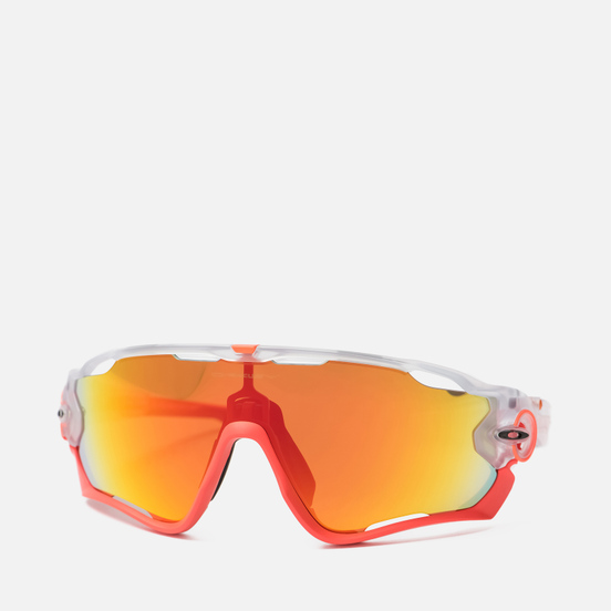 Солнцезащитные очки Oakley Jawbreaker Crystal Pop/Crystal Clear/Fire Iridium
