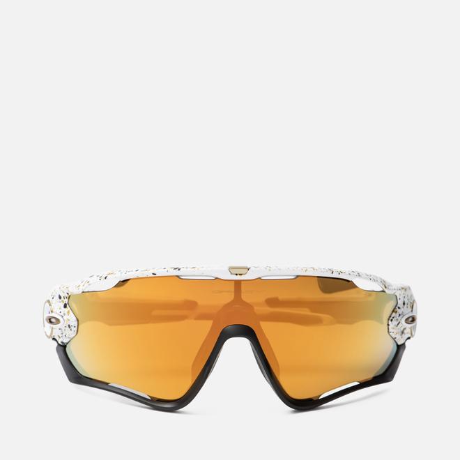 Солнцезащитные очки Oakley Jawbreaker Metallic Splatter Splatter White/24k Iridium