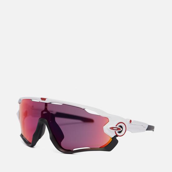 Солнцезащитные очки Oakley Jawbreaker Polished White/Black/Prizm Road