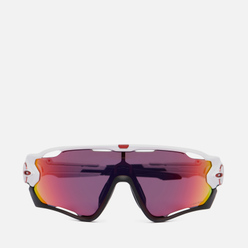Солнцезащитные очки Oakley Jawbreaker Polished White/Black/Prizm Road