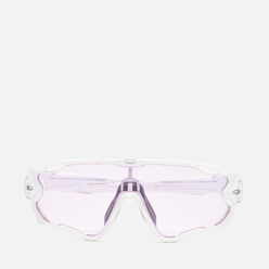 Солнцезащитные очки Oakley Jawbreaker Polished White/Prizm Low Light