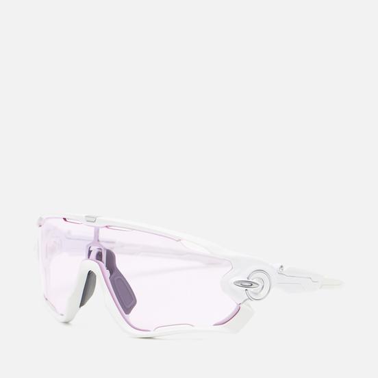 Солнцезащитные очки Oakley Jawbreaker Polished White/Prizm Low Light