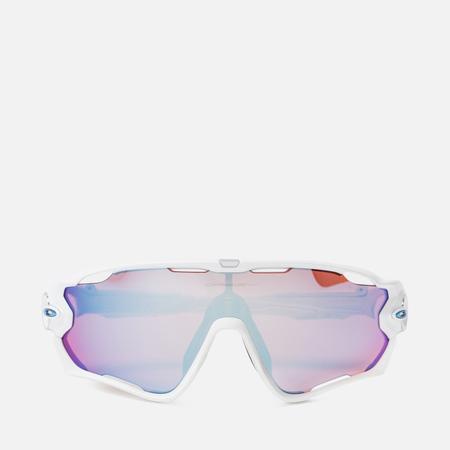 Солнцезащитные очки Oakley Jawbreaker Polished White/Prizm Sapphire Snow