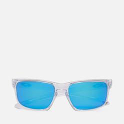 Солнцезащитные очки Oakley Sliver Polished Clear/Prizm Sapphire