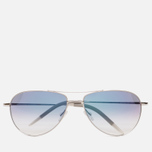 Солнцезащитные очки Oliver Peoples Benedict Silver/Chrome Sapphire Photochromic фото- 0
