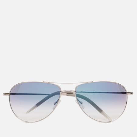 Солнцезащитные очки Oliver Peoples Benedict Silver/Chrome Sapphire Photochromic