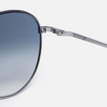 Солнцезащитные очки Oliver Peoples Benedict Silver/Chrome Sapphire Photochromic фото- 3