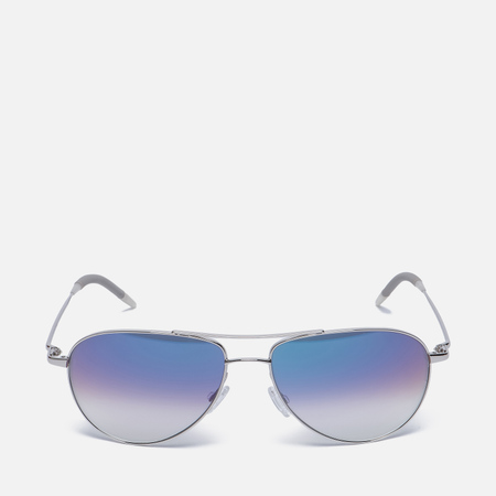 Солнцезащитные очки Oliver Peoples Benedict Silver/Violet Photochromic