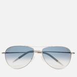 Солнцезащитные очки Oliver Peoples Benedict Silver/Violet Photochromic фото- 0