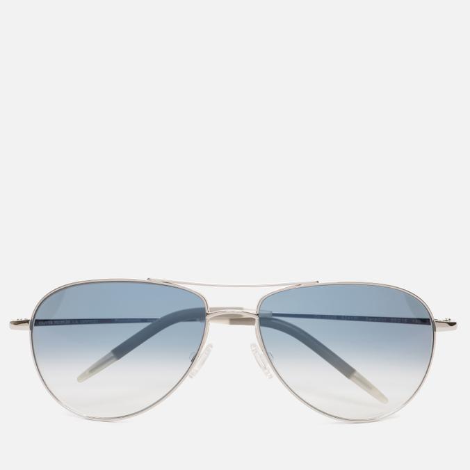 Солнцезащитные очки Oliver Peoples Benedict Silver/Violet Photochromic