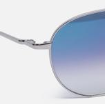 Солнцезащитные очки Oliver Peoples Benedict Silver/Violet Photochromic фото- 2