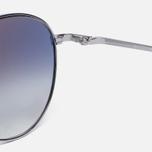 Солнцезащитные очки Oliver Peoples Benedict Silver/Violet Photochromic фото- 3