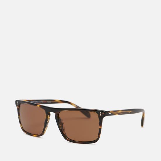 Солнцезащитные очки Oliver Peoples Bernardo Cocobolo/Java Polar