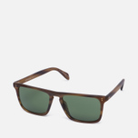 Солнцезащитные очки Oliver Peoples Bernardo Matte Sandalwood/Green C Mineral фото- 1
