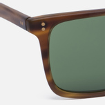 Солнцезащитные очки Oliver Peoples Bernardo Matte Sandalwood/Green C Mineral фото- 2