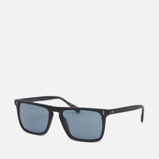 Солнцезащитные очки Oliver Peoples Bernardo Semi Matte Black/Indigo Photochromic