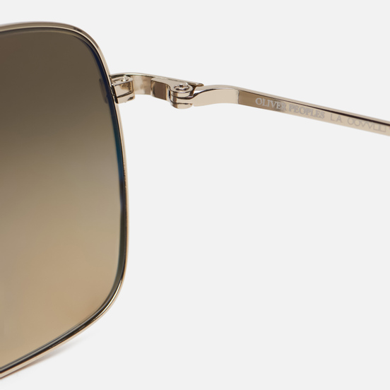 Солнцезащитные очки Oliver Peoples Clifton Gold/Chrome Olive Photochromic