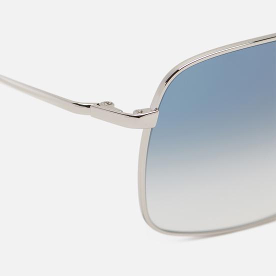 Солнцезащитные очки Oliver Peoples Clifton Silver/Blue Gradient