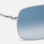 Солнцезащитные очки Oliver Peoples Clifton Silver/Blue Gradient фото- 2