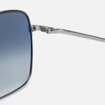 Солнцезащитные очки Oliver Peoples Clifton Silver/Blue Gradient фото- 3