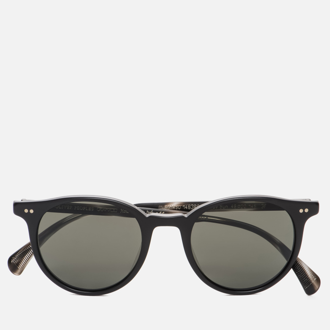 Солнцезащитные очки Oliver Peoples Delray Matte Black/G-15 Polar