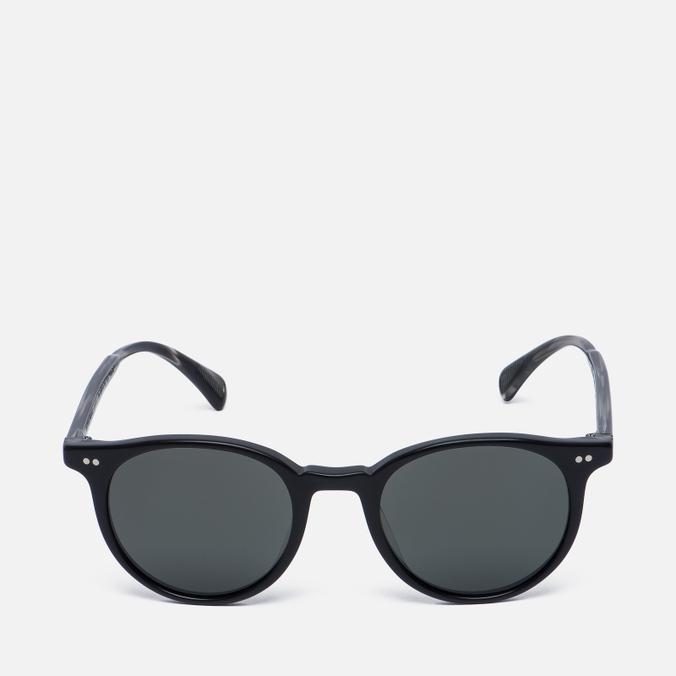 Солнцезащитные очки Oliver Peoples Delray Matte Black/G-15 Polar