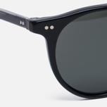 Солнцезащитные очки Oliver Peoples Delray Matte Black/G-15 Polar фото- 2