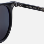 Солнцезащитные очки Oliver Peoples Delray Matte Black/G-15 Polar фото- 3