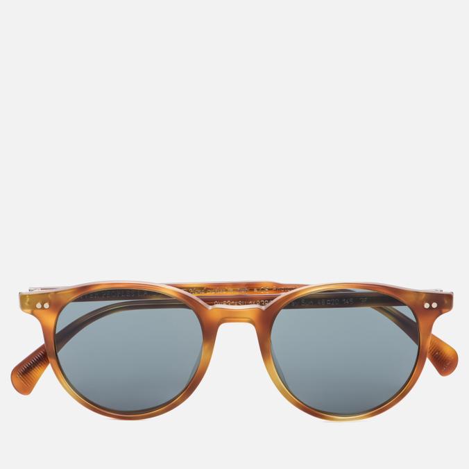 Солнцезащитные очки Oliver Peoples Delray Matte Light Brown/Indigo Photochromic